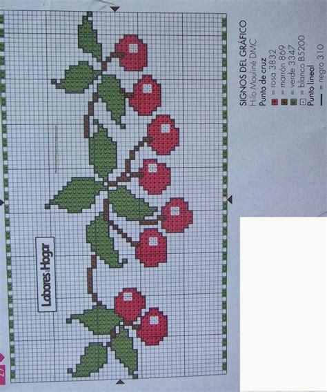 graficos punto de cruz cocina graficos punto de cruz gratis toallas pa 209 os cocina 40