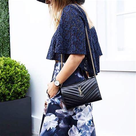 ysl monogram shoulder bag athomeintheclouds fashion