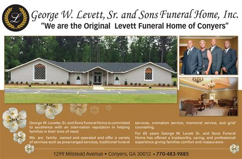 levett funeral home conyers home review