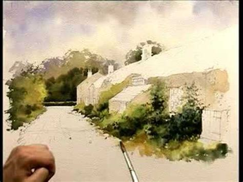 watercolor tutorial architecture improve your buildings in watercolour part two youtube