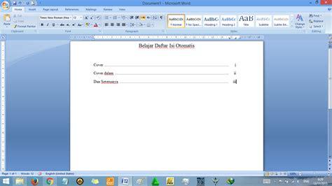 cara untuk membuat catatan kaki cara membuat daftar isi otomatis di word rapi tutorial
