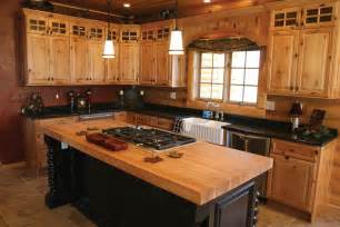 Hickory Wood Cabinets Kitchens Knowing Hickory Kitchen Cabinets Pros And Cons
