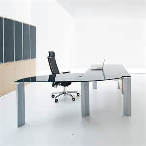 glass office desk furniture glass executive desks