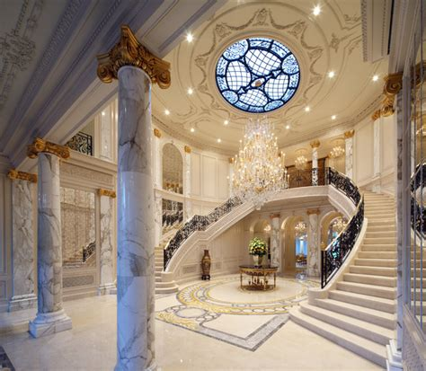 mansion foyer beverly hills traditional style mansion