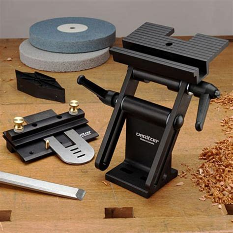 bench grinder sharpening jig veritas tool rest and grinding jig garrett wade