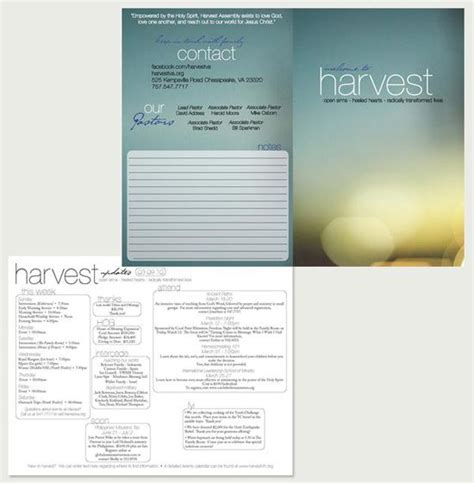 layout for bulletin church bulletin design bulletins pinterest
