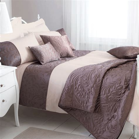 King Duvet Sets classic amarante king size duvet cover set mocha