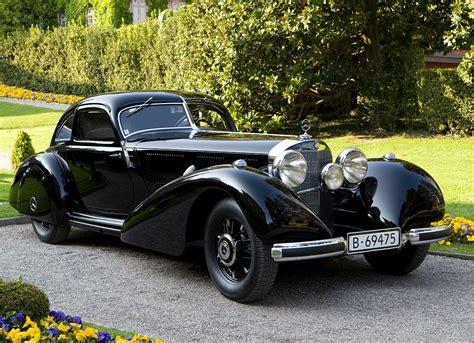 1938 mercedes 540k autobahnkurier automotive views