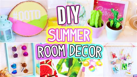 diy summer diy room decor for summer easy 5 minutes crafts