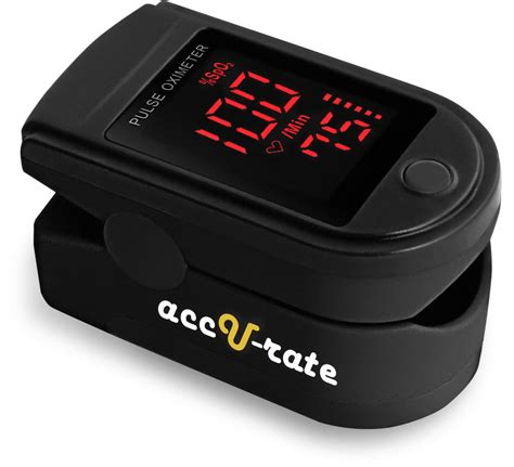 Pulse Oximeter Spo2 Rate acc u rate pro series 500dl fingertip pulse