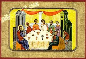 Who Painted The Wedding At Cana by The Wedding At Cana Handpainted Hagiography Icons