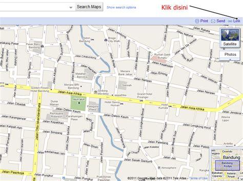 cara mendapat peta jalan kota bandung full dengan google cara mendapat peta jalan kota bandung full dengan google