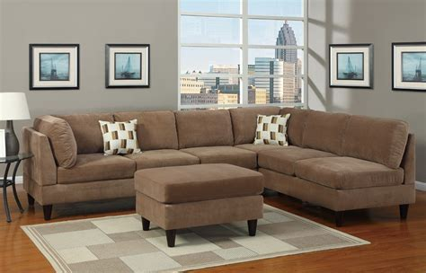 Microsuede Sectional Sofa Microsuede Sectional Sofas Cleanupflorida