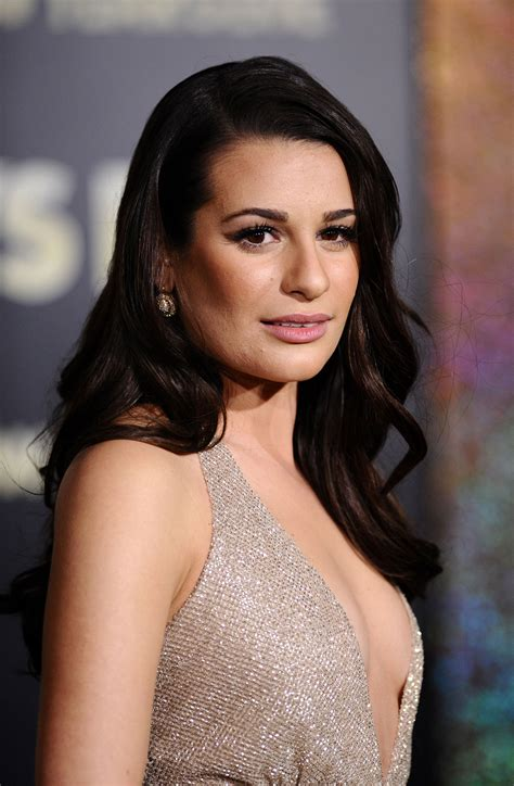lea michele lea michele at new year s premiere in los amgeles