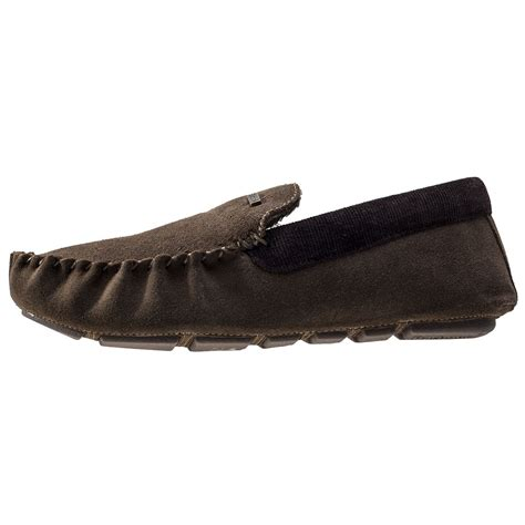 barbour mens slippers barbour monty mens slippers in olive