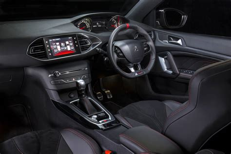 peugeot 308 interior peugeot 308 gti launched from sub 45k forcegt com