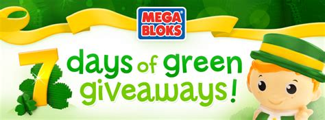 Luck Of The Irish Sweepstakes - mega bloks luck o the irish sweepstakes deals from savealoonie