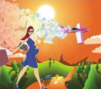 Ibu Hamil Muda Naik Pesawat Panduan Kehamilan Dan Berpantang Cara Moden Adakah