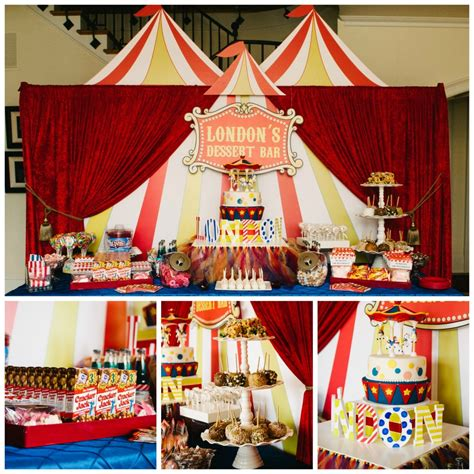 Big Top Bar by Big Top Circus Birthday Fearon May Events