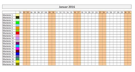 Kalender 2017 Urlaubsplanung Kostenlose Excel Urlaubsplaner Vorlagen 2017 Office