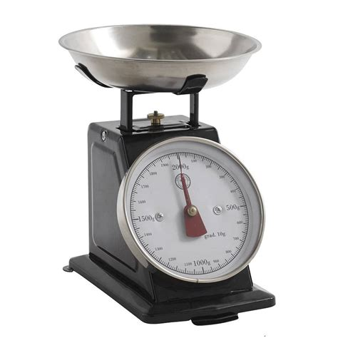 Vintage Kitchen Scales by Retro Kitchen Scales By Bell Blue Notonthehighstreet