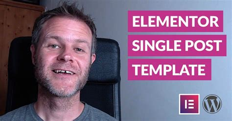 Single Post Template Elementor How To Design A Wordpress Single Post Template With Elementor Design Build Web