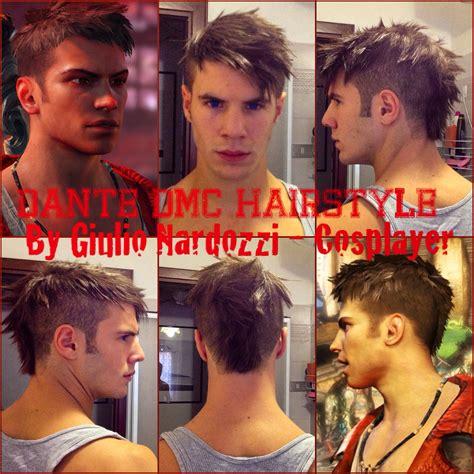 dante dmc hairstyle dmc devil may cry dante inspired men s haircut my