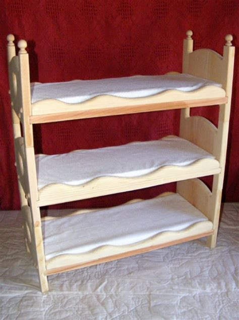 Bunk Beds For Triplets Doll Bed Bunk Bed Ladder Mattresses Newborn Photography Aftcra