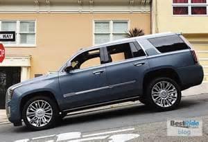 Cadillac Platinum Post Review 2016 Cadillac Escalade Platinum