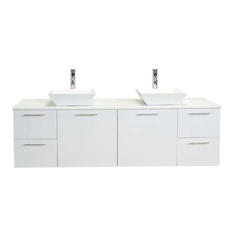 72 inch bathroom vanity top eviva luxury 72 inch white bathroom vanity with top