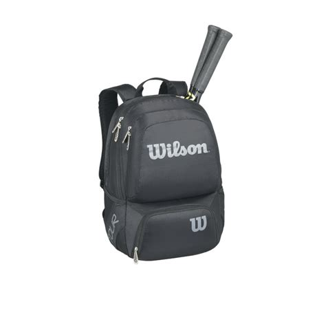 Solinco Backpack Silver wilson tour v medium backpack black silver from do it tennis