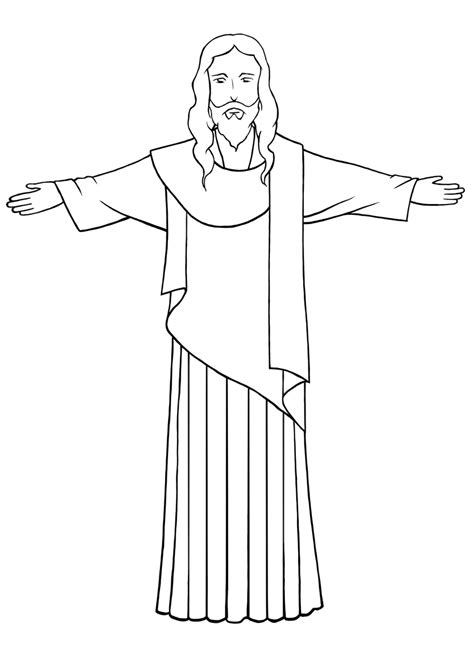 Easy To Draw Jesus how to draw jesus 9 steps with pictures wikihow