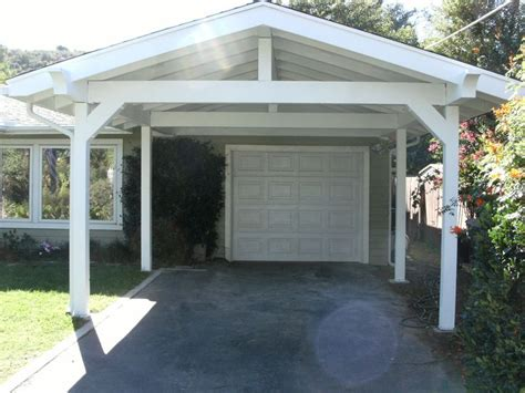 Attached Car Port by Carport Pergola Ideas Carports Such