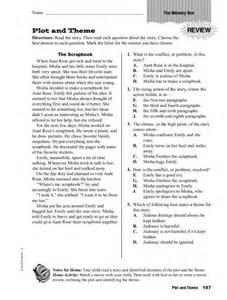 identifying theme worksheets virallyapp printables worksheets