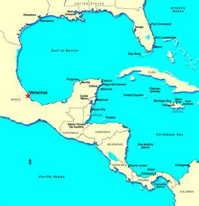 Veracruz Mexico Map by Veracruz Mexico Discount Cruises Last Minute Cruises