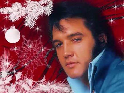 elvis presley merry christmas baby youtube