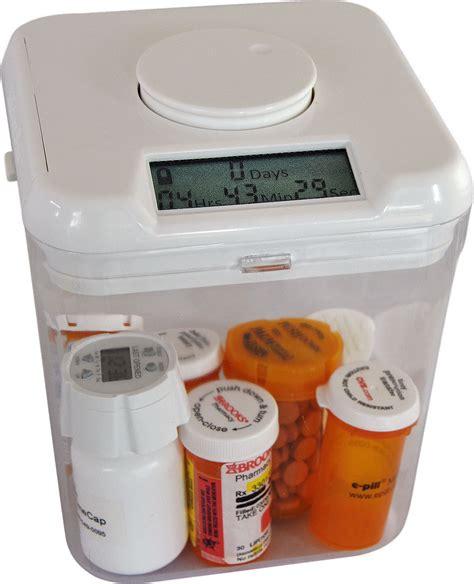 medication containers storage grand children secure medicine storage medication