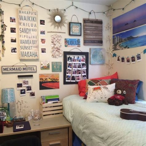 themes in college dorm decor on tumblr
