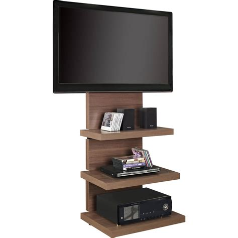 Tv Wall Mounts With Shelf by Wall Mount Tv Stand With Shelves Pennsgrovehistory