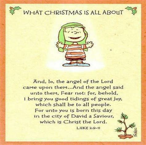 the true meaning of christmas peanuts pinterest