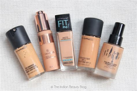 5 best foundations oily skin  The Indian Beauty Blog