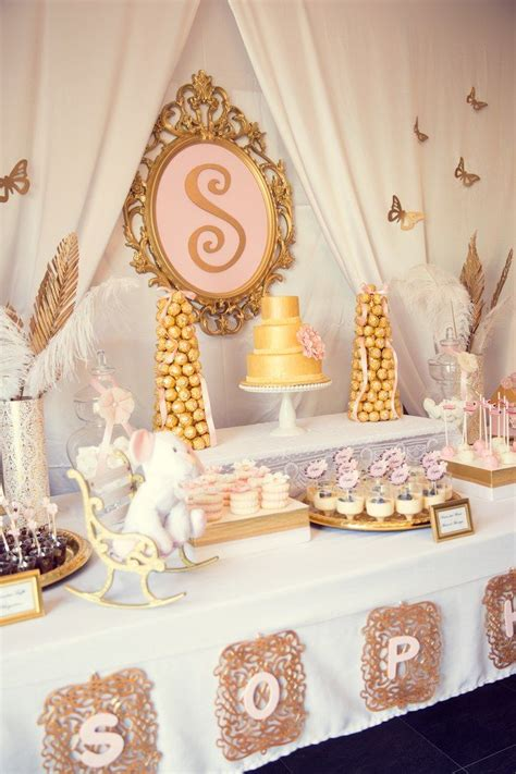 pink and gold table decorations 59 best images about pink and gold baby shower ideas on