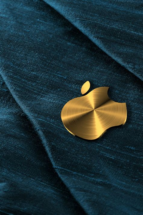 gold themes for iphone gold apple logo wallpaper free iphone wallpapers