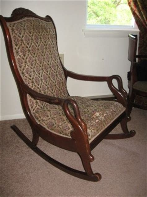 Gooseneck Rocking Chair by Geese Print By Floyd G Gooseneck Rocking Chair