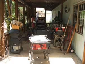 Backyard Woodshop by Outdoor Woodshop