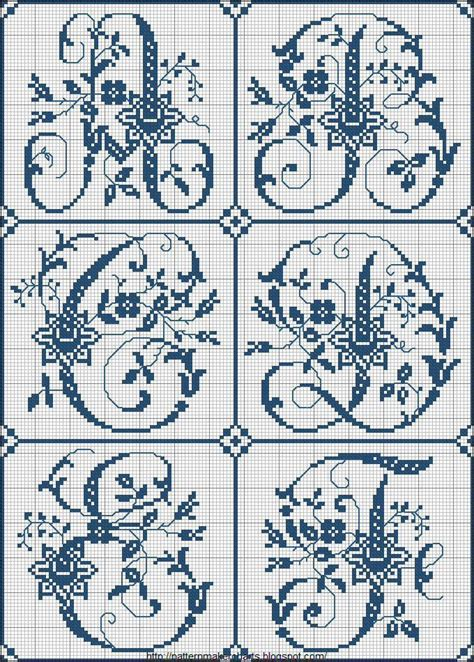 cross stitch pattern maker online letters 85 best images about alfabeto punto croce on pinterest