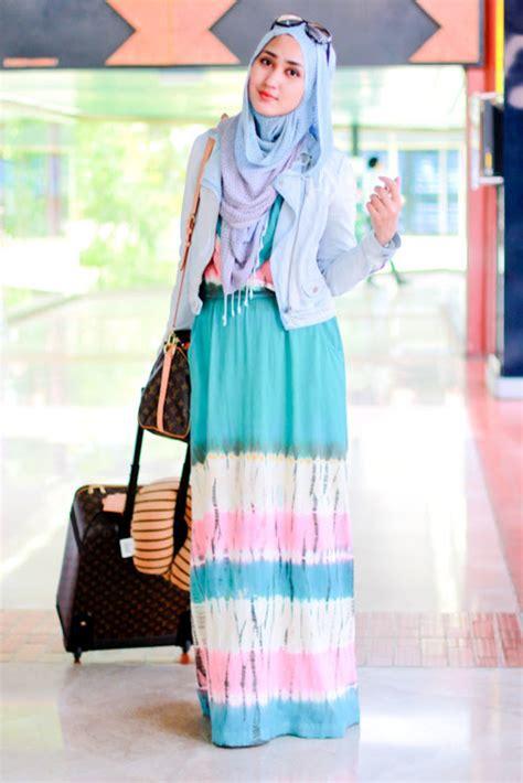 Muslimwear Adora Cardigan Putih Style 2017 Summer