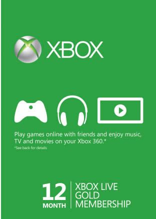 discount vouchers xbox live gold microsoft xbox live gold card free games promo 1 oct 31