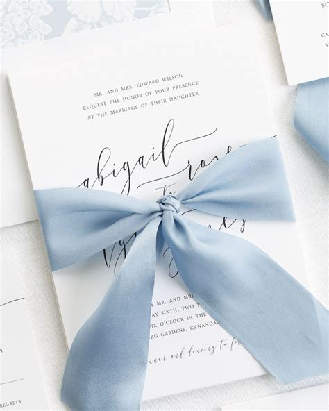 wedding ribbon calligraphy ribbon wedding invitations ribbon
