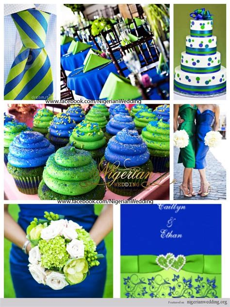 green wedding colors royal blue and green wedding colors www pixshark